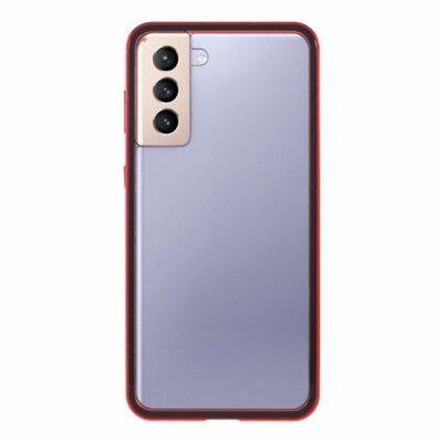 samsung s21 plus perfect cover rød