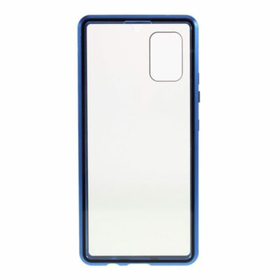 samsung galaxy a71 perfect cover blå