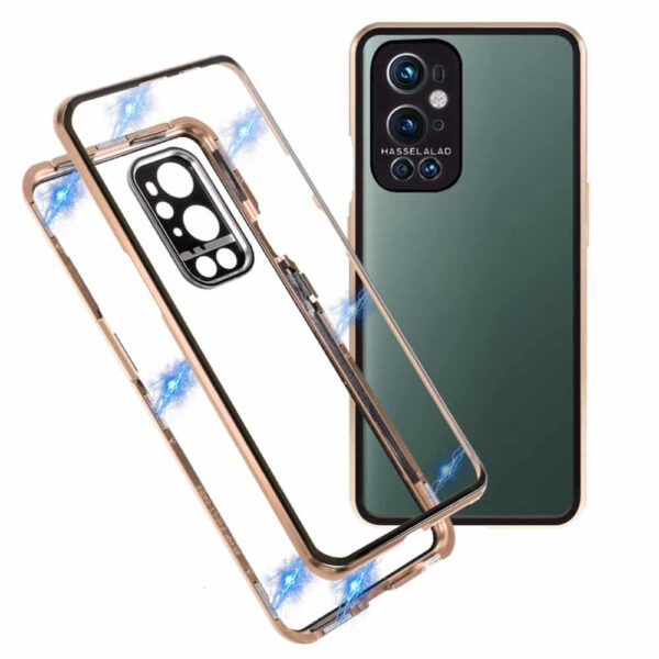 oneplus 9 perfect cover guld 1