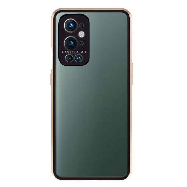 oneplus 9 perfect cover guld 4