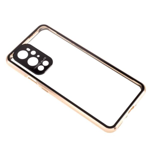 oneplus 9 perfect cover guld 5
