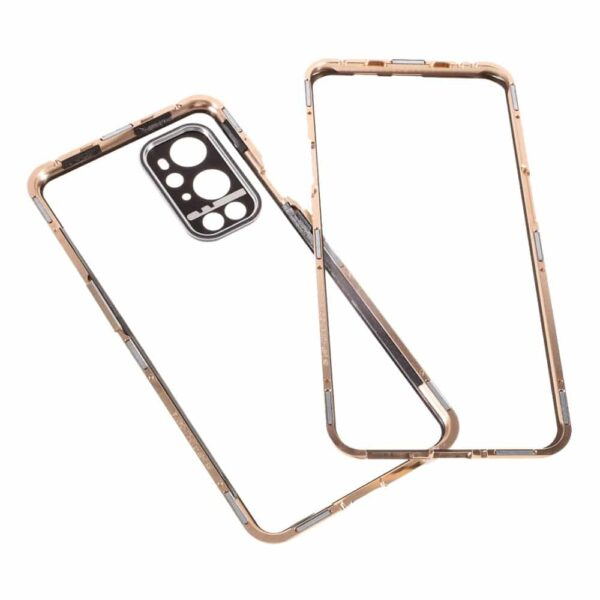 oneplus 9 pro perfect cover guld 10