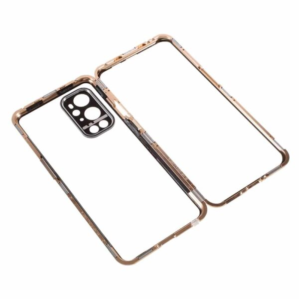 oneplus 9 pro perfect cover guld 9
