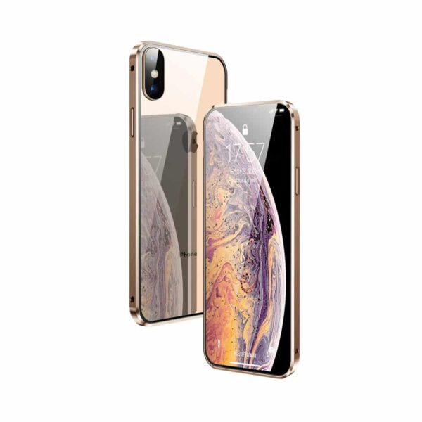 iphone x perfect cover guld1