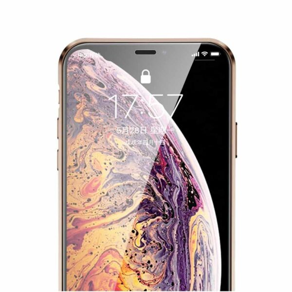 iphone x perfect cover guld5