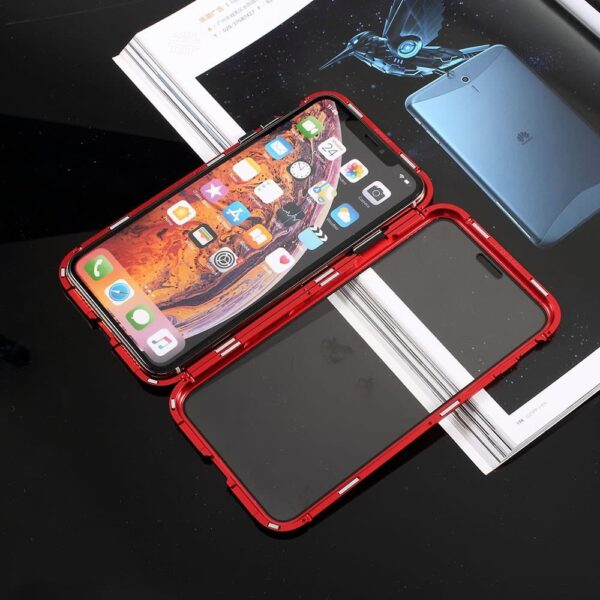 iphone x perfect cover rød1