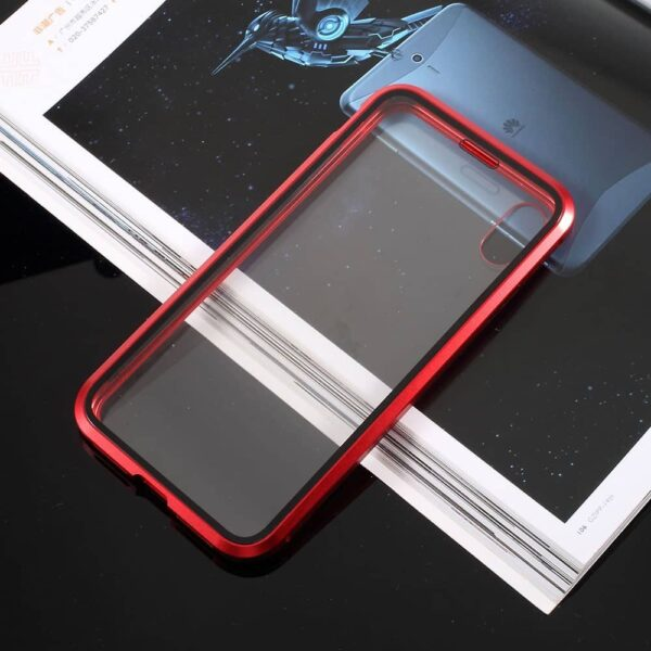 iphone x perfect cover rød3