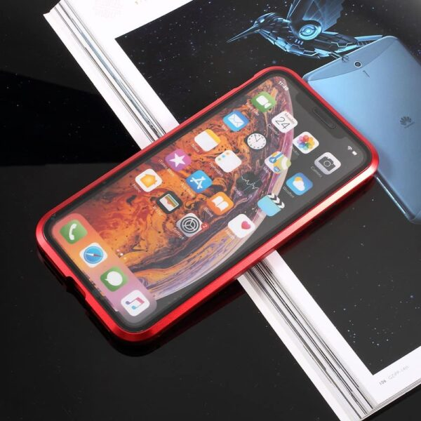 iphone x perfect cover rød4