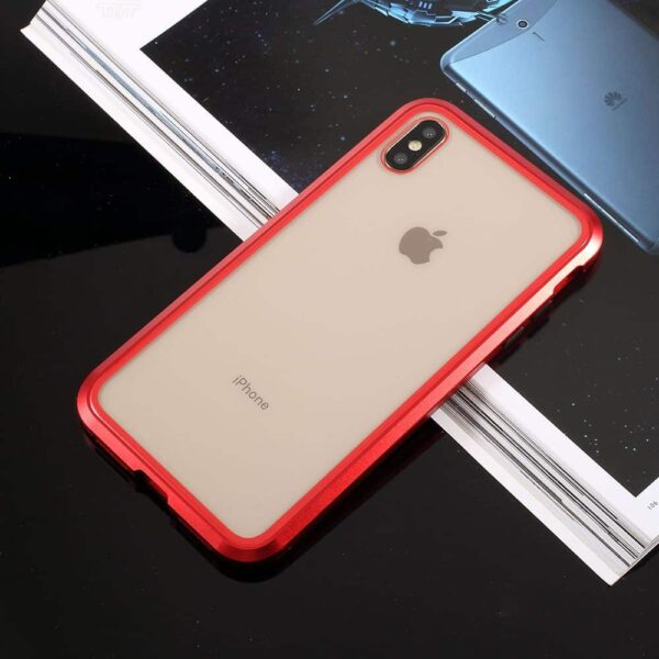 iphone x perfect cover rød5