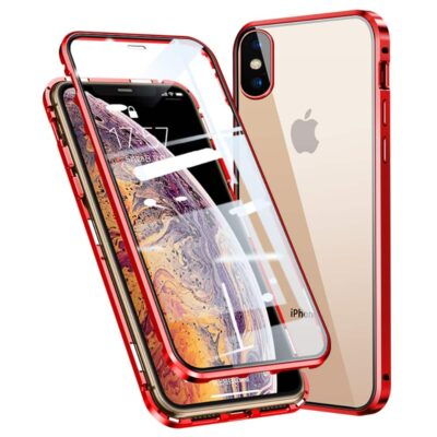 iphone x perfect cover rød6