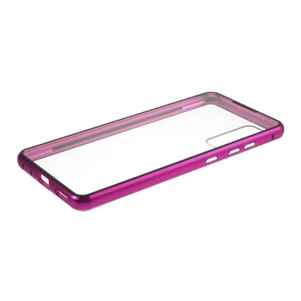 samsung s20 lite perfect cover lilla cover beskyttelse
