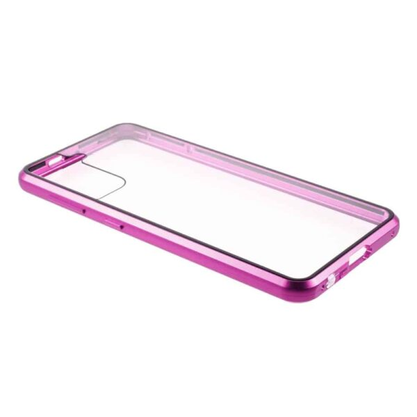 samsung s21 plus perfect cover lilla beskyttelse