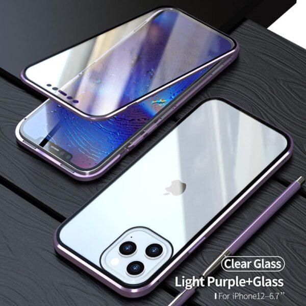 iphone 12 perfect cover lilla 1